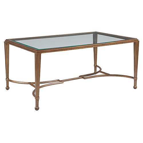 Sangiovese Coffee Table, Renaissance Gold