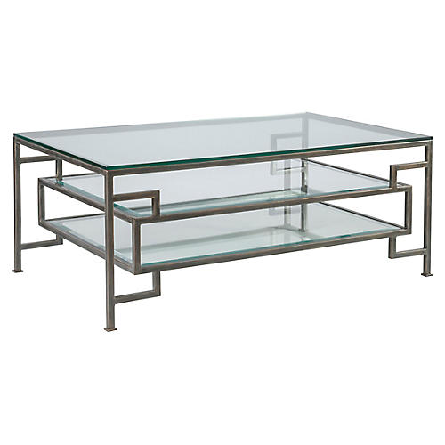 Suspension Coffee Table, St. Laurent Iron