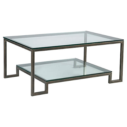 Bonaire Coffee Table, St. Laurent Iron