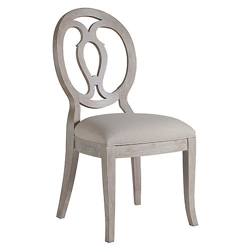 Axiom Side Chair, Greige