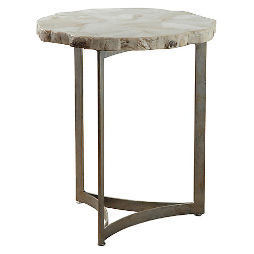 Tate Side Table, Ivory