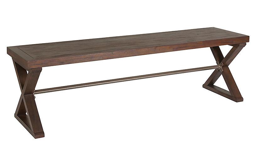 Ringo Bench, Marrone Brown