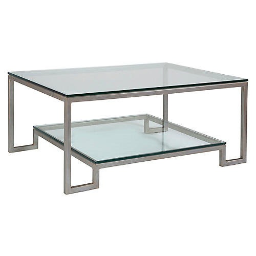 Bonaire Coffee Table, Argento Silver