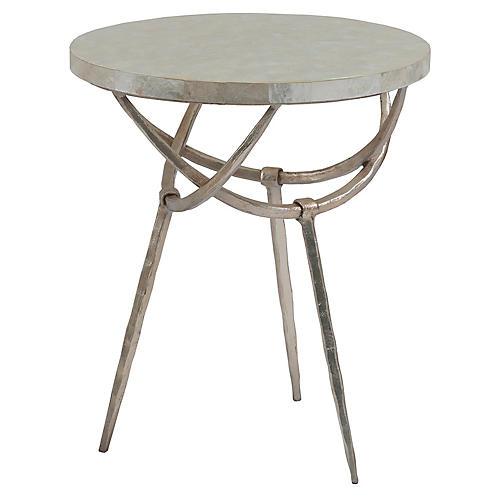Sergio Side Table, White