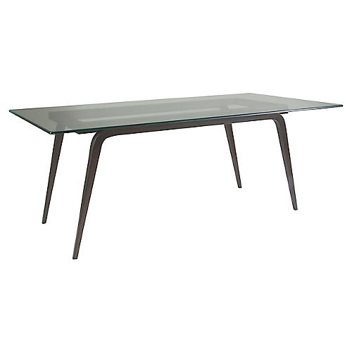 Mitchum Dining Table, St. Laurent Iron