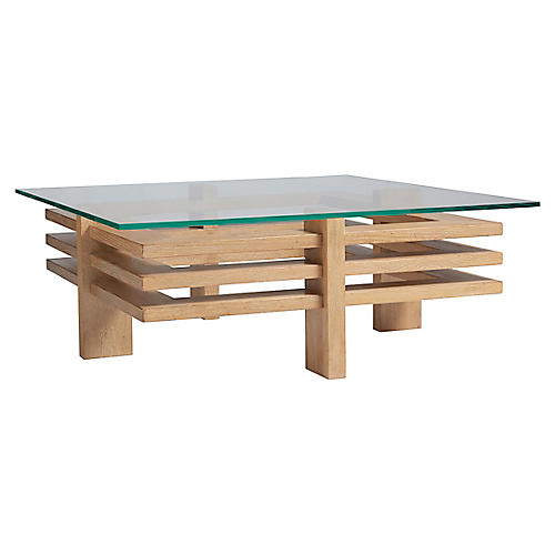 Calcutta Coffee Table, Natural