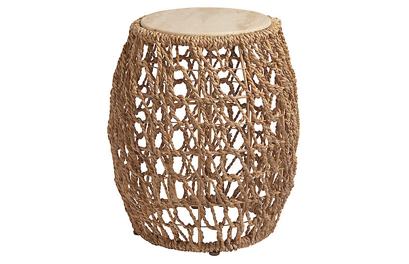 Madrid Side Table, Natural