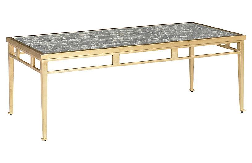 Corbu Coffee Table, Gold