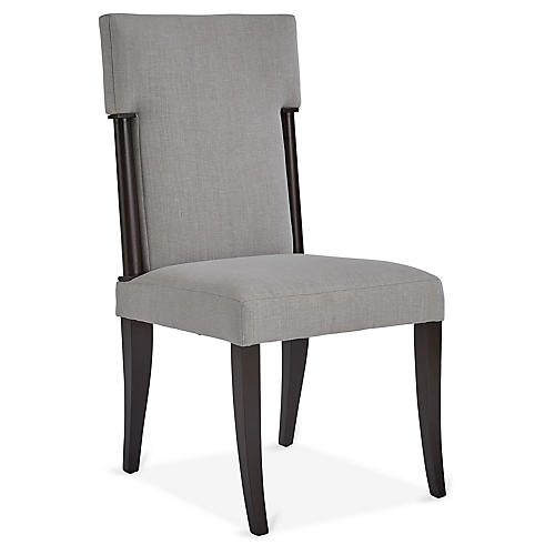 Geneve Side Chair, Pebble
