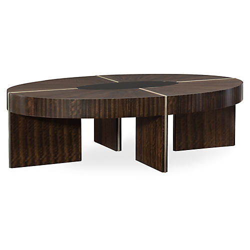 Commodore Coffee Table, Aged Bourbon