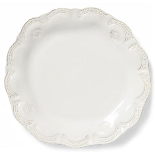 Incanto Stone Lace Dinner Plate, Ivory