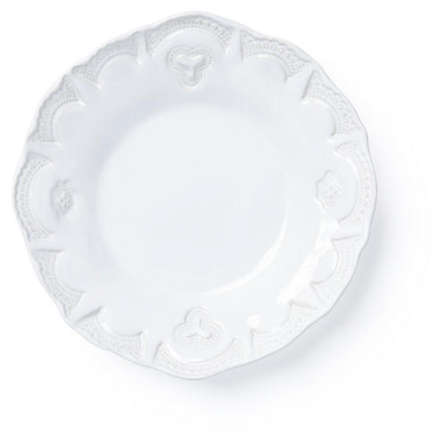Incanto Stone Lace Pasta Bowl, White