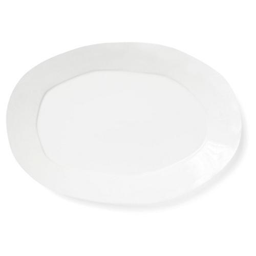 Lastra Oval Platter, Linen