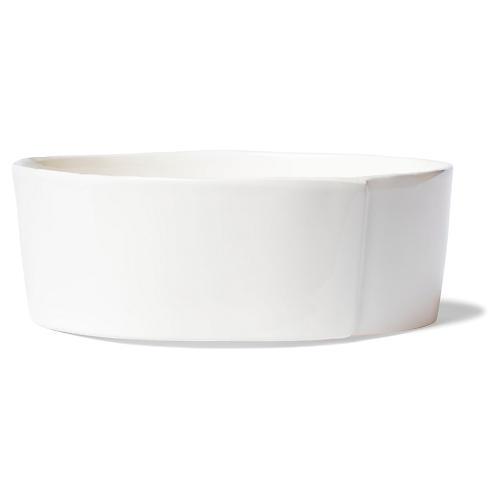 Lastra Serving Bowl, Linen