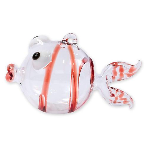 Fish Ornament, Red