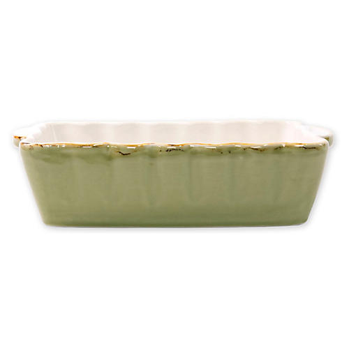 Italian Bakers Rectangluar Baker, Green