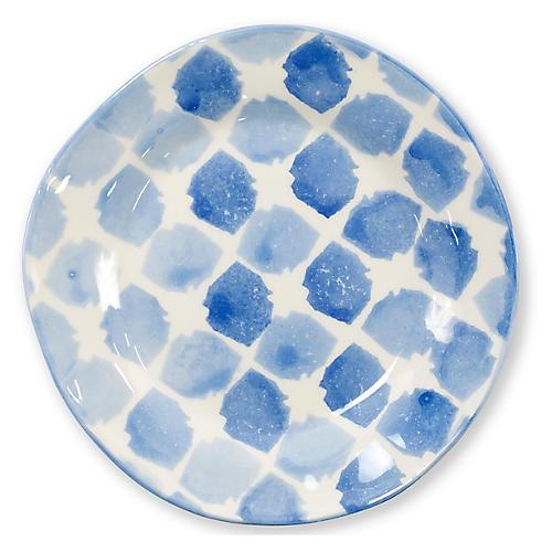 Modello Tile Salad Plate, Blue
