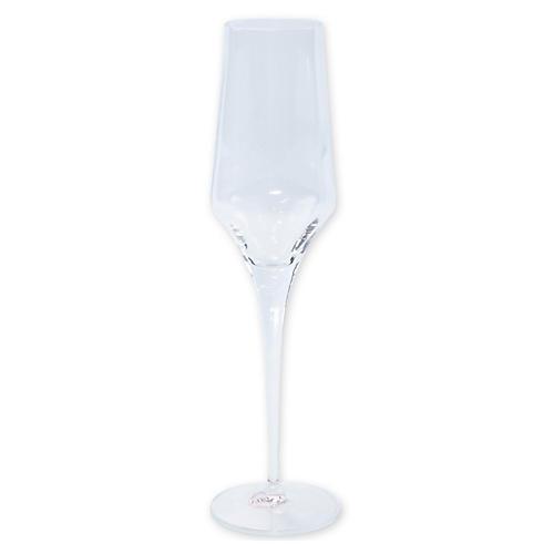 Contessa Champagne Flute, Clear