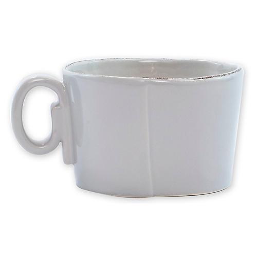 Lastra Latte Mug, Light Gray