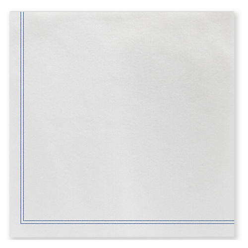 S/50 Papersoft Linea Dinner Napkins, Blue