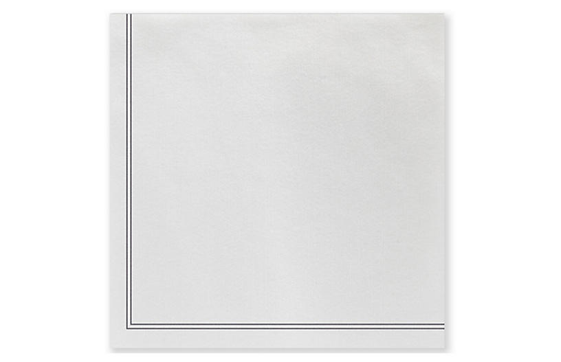 S/50 Papersoft Linea Dinner Napkins, Gray