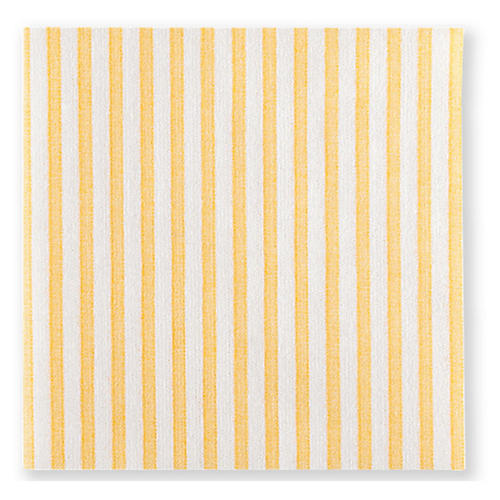 S/20 Papersoft Capri Cocktail Napkins, Yellow