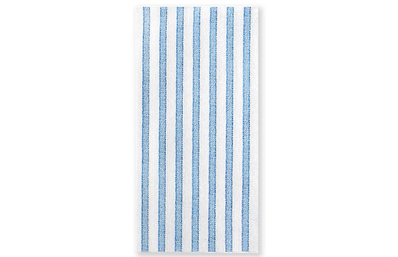 S/50 Papersoft Capri Guest Towels, Light Blue