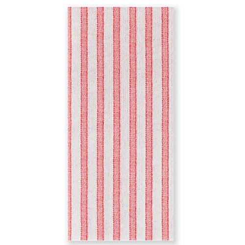 S/50 Papersoft Capri Guest Towels, Red