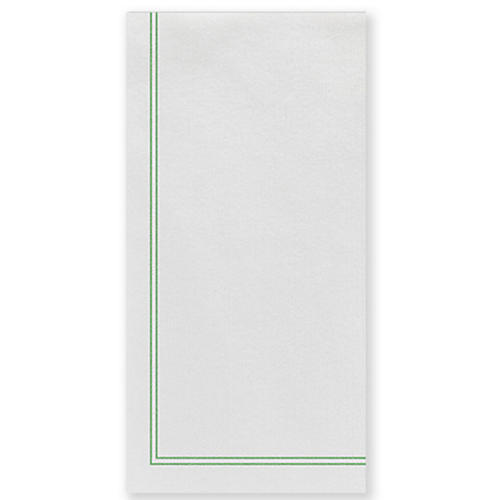 S/50 Papersoft Linea Guest Towels, Green