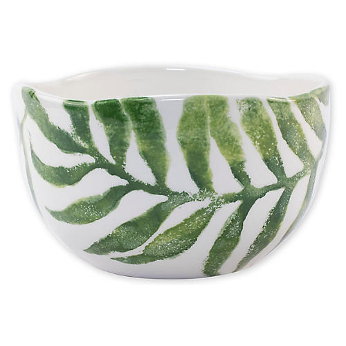 Into The Jungle Deep Bowl, White
