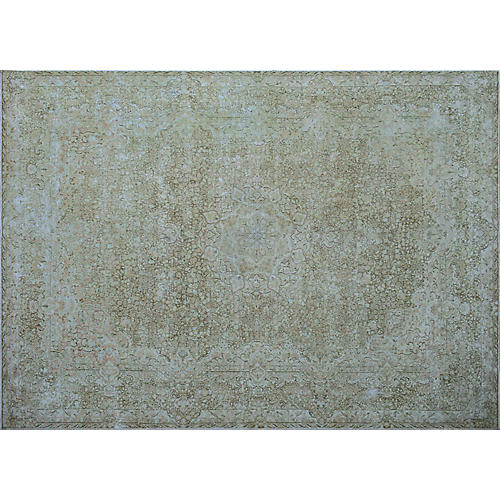 "9'8""x13'3"" Mlena Rug, Brown/Beige"