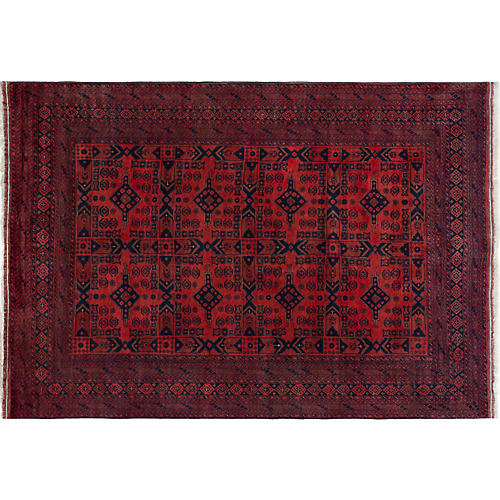 "6'10""x9'7"" Adline Rug, Brown"