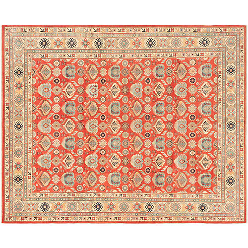 "8'x9'10"" Sienna Rug, Red"