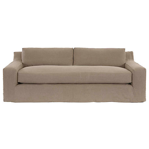 Bodner Sofa, Natural Linen