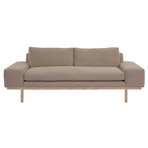 Nilson Sofa, Natural Linen