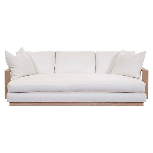 Verano Sofa, Ivory Linen