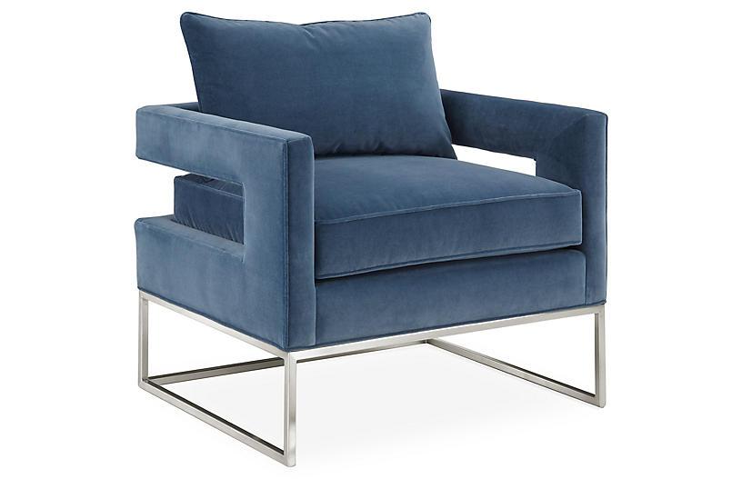 Bevin Velvet Chair