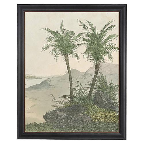 Egyptian Palms II