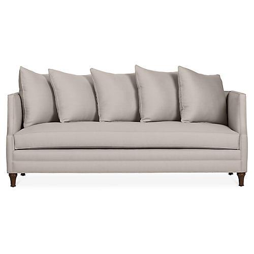 Dumont Sofa, Gray Linen