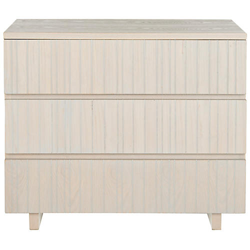 Jemima Nightstand, Cream/Gray
