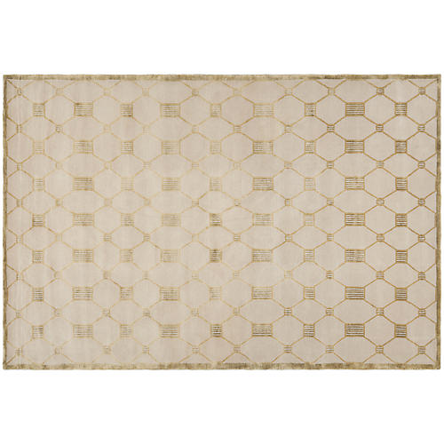 Chippendale Rug, Beige