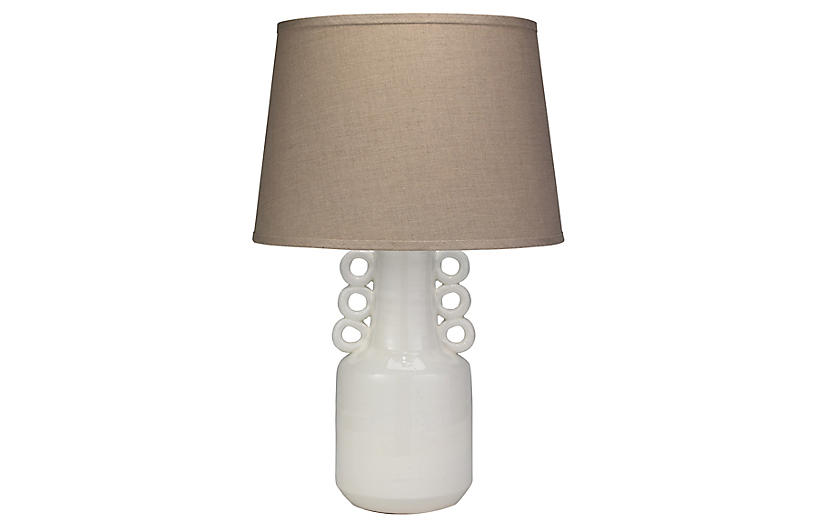 Circus Table Lamp, White