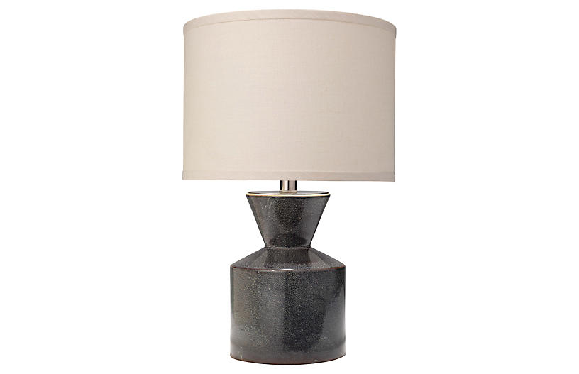 Berkley Table Lamp, Deep Blue