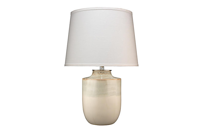 Lagoon Table Lamp, Cream