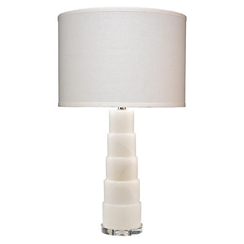 Caspian Table Lamp, White