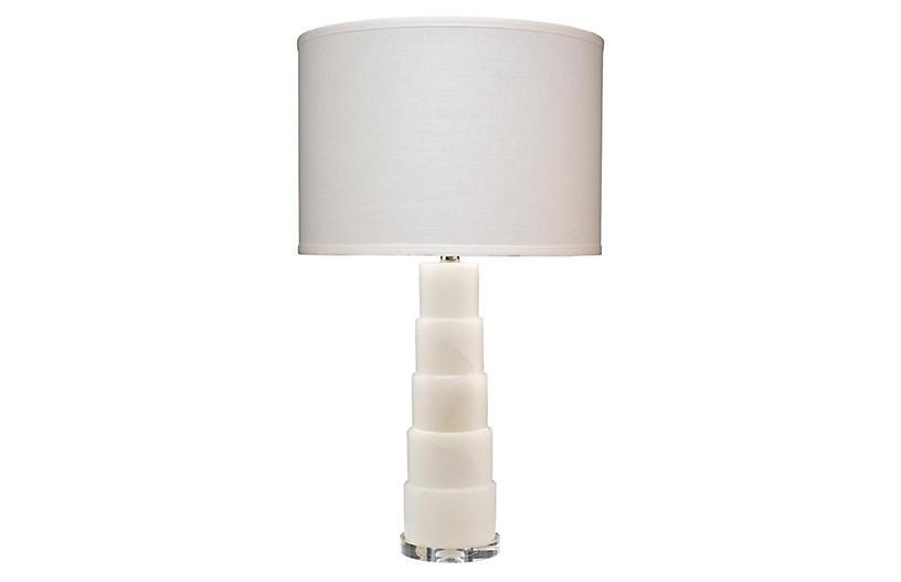 Caspian Table Lamp, White