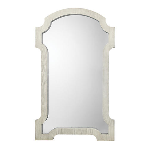 Estate Wall Mirror, Graywash