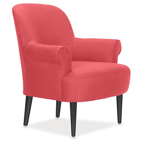 Pierce Accent Chair, Begonia