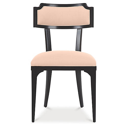 Worthington Side Chair, Powder Blush