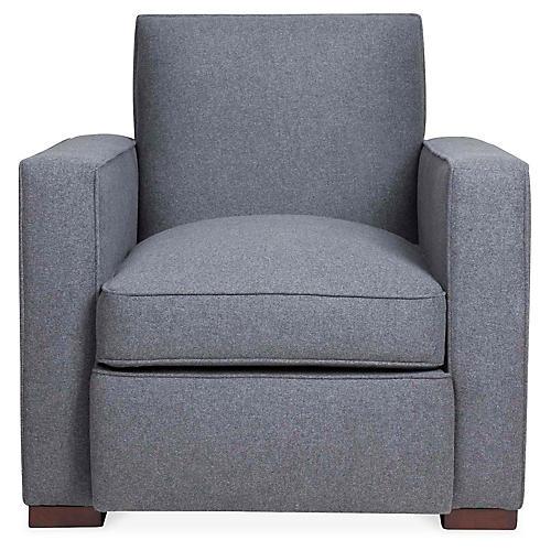 Warner Chair, Charcoal